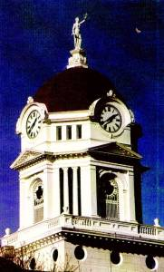 Hancock County Courthouse Dome